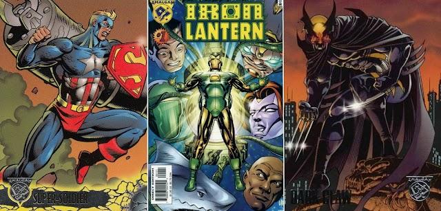 Amalgam Comics, Saat Karakter Marvel dan DC Bersatu