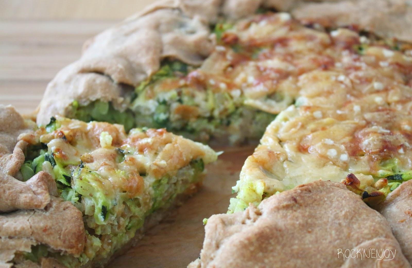Rock N Enjoy Pikanter Zucchinikuchen Auch Vegan Zubereitbar