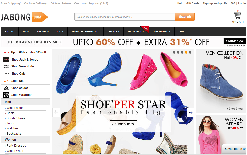 My Shopping Experience with Jabong.com – Jabong.com Review