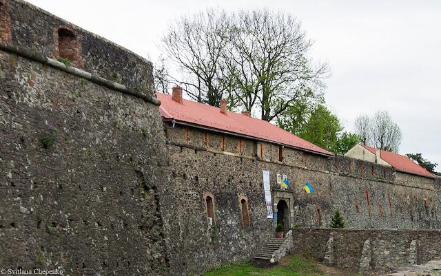 стіни ужгородського замку