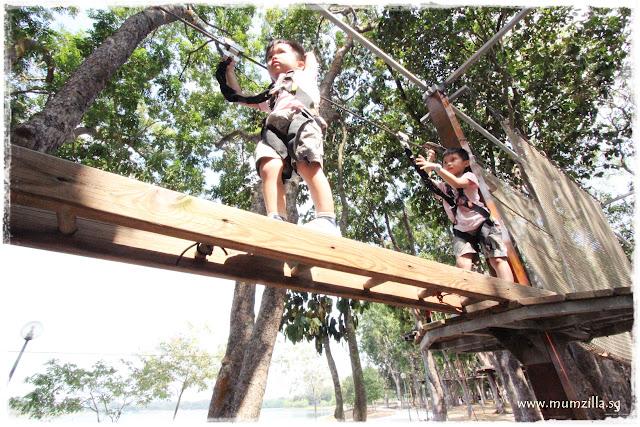 forest adventure bedok reservoir