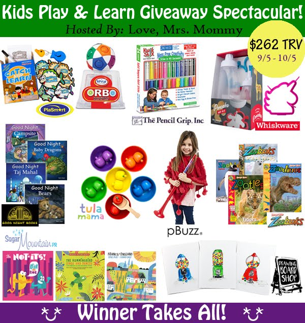 Kids Play & Learn Giveaway!! Over $262 TRV