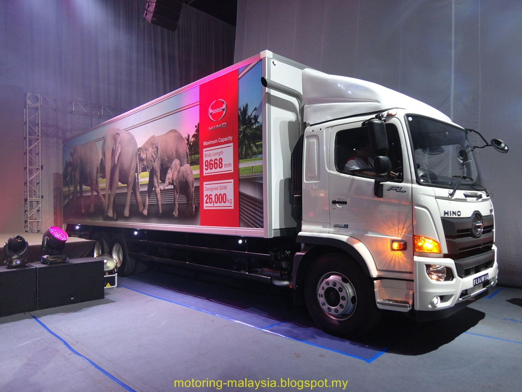 Motoring-Malaysia: TRUCK NEWS: HINO Malaysia Launches the Upgraded