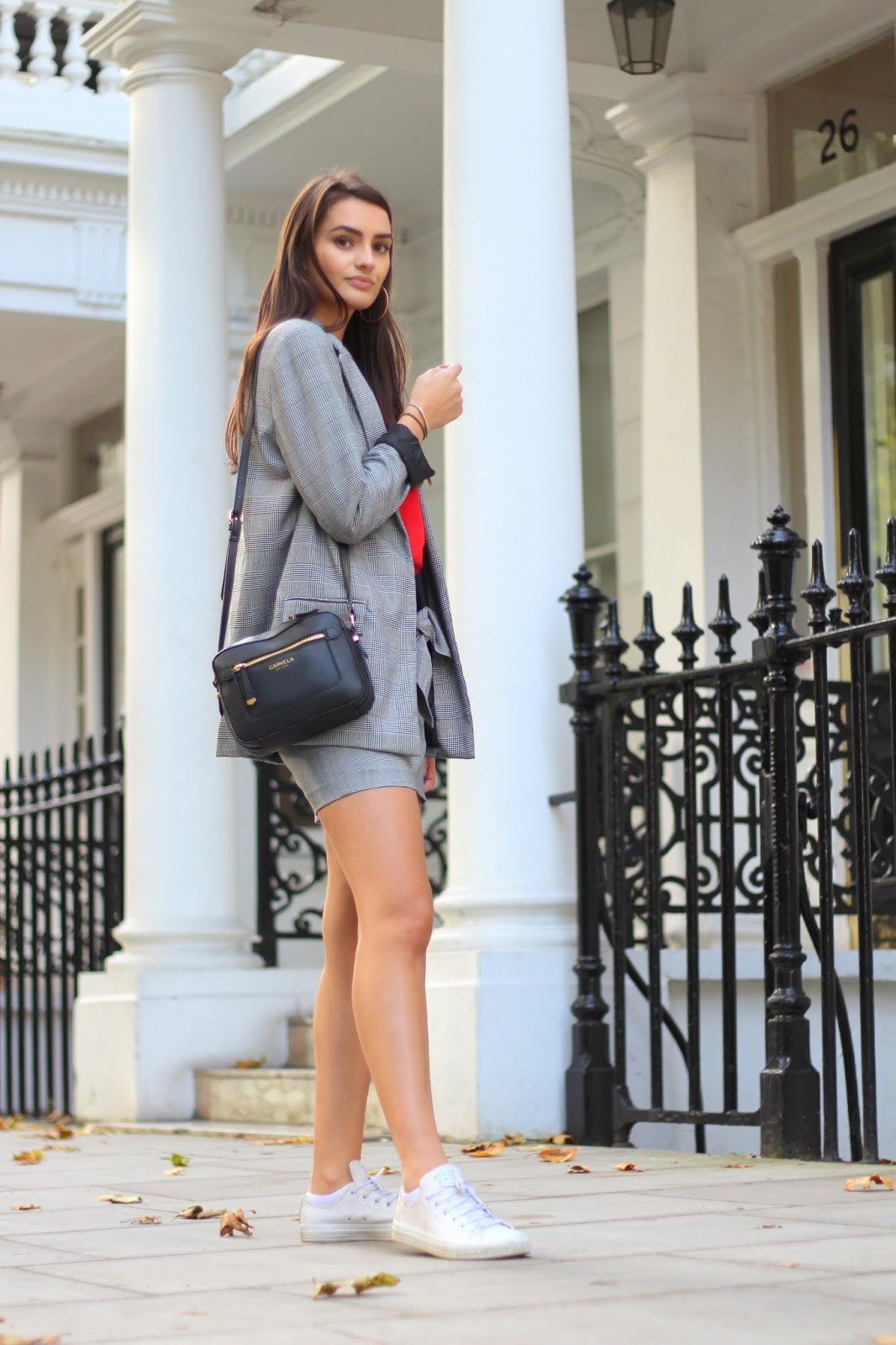 casual suit peexo style blogger