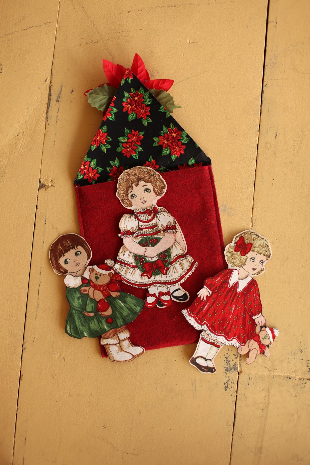 The Quilt Barn Fabric Christmas Paper Dolls