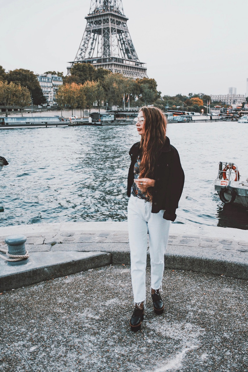 blog mode tenue du jour paris 2017 octobre tendance long hair tumblr