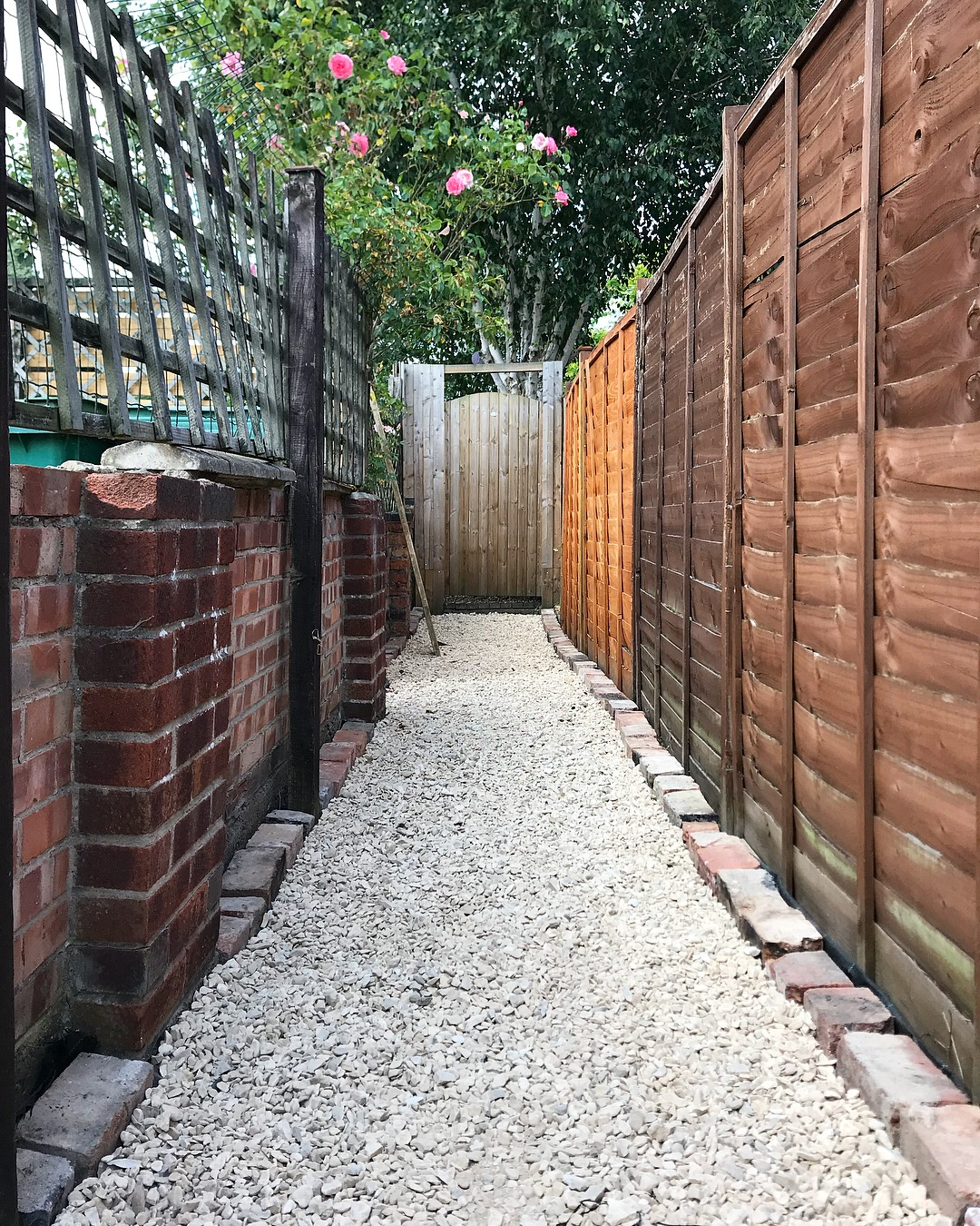 Victorian Alley with Gravel