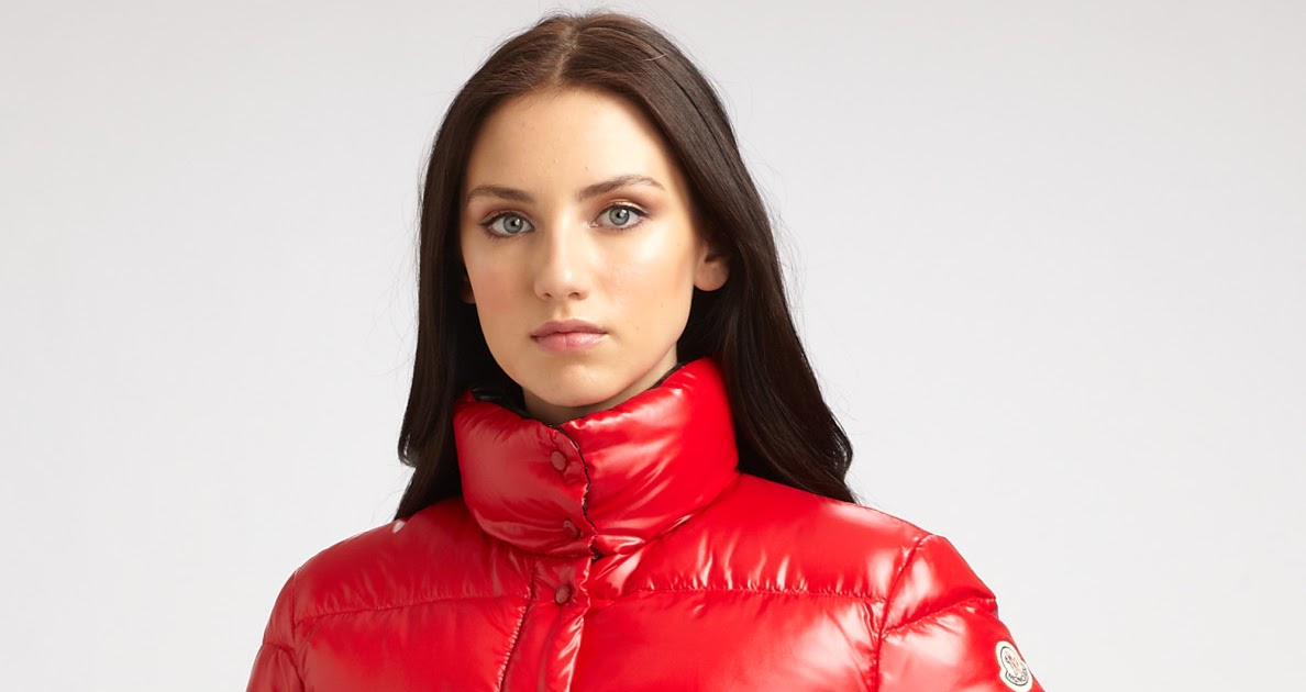 downjacket fashion red moncler clairy