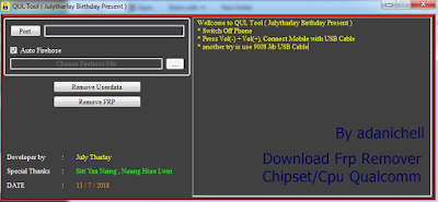 Download Frp Remover Chipset/Cpu Qualcomm