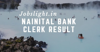 Nainital Bank Clerk Result 2017