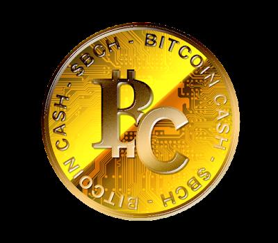 Bitcoin Cashのフリー素材(金貨ver)