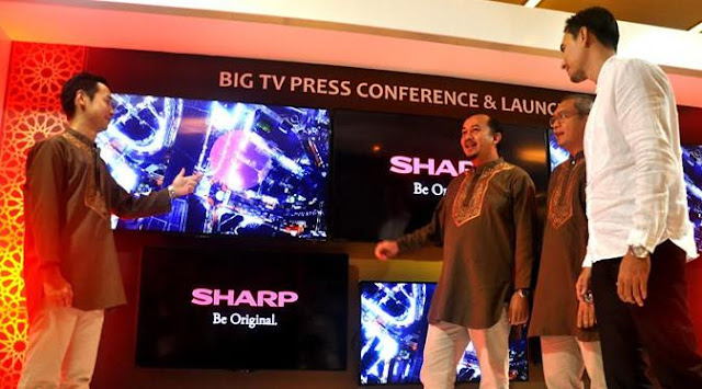 Launches New Smart TV, Sharp Shoots 33,000 Units Sales