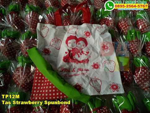 Harga Tas Strawberry Spunbond