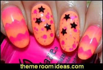 nail art decoration hearts - stars - nail art decorations