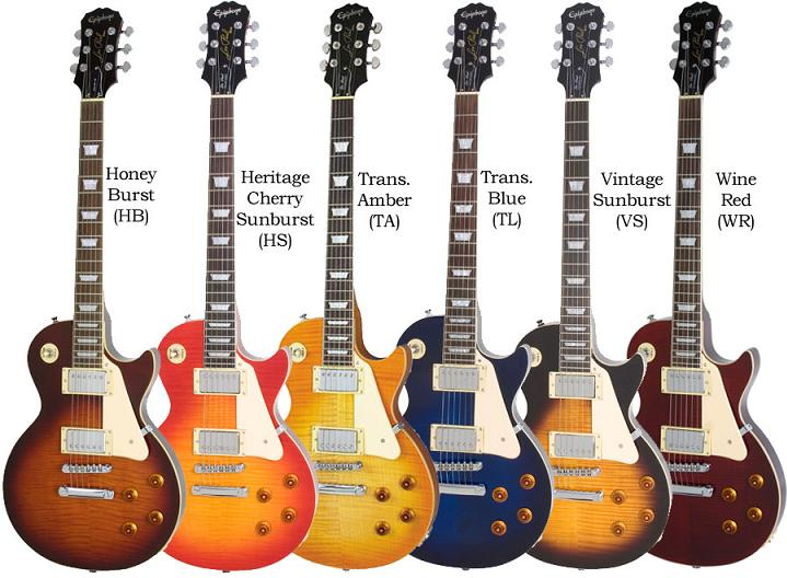 epiphone les paul standard plus top types of guitars. Black Bedroom Furniture Sets. Home Design Ideas