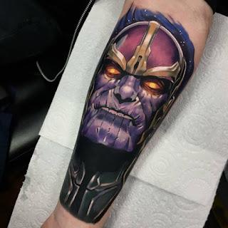 tatuaje de Thanos