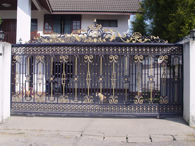 Iron gates design gallery - KERALA HOME DEZIGN on Iron Get Design  id=66491