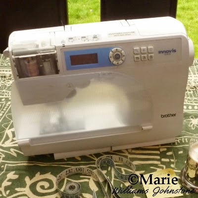Brother Innovis Series Computerized Sewing Machine and Measuring Tape