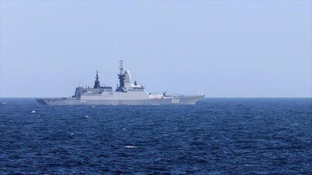 Reino Unido detecta y escolta 2 corbetas rusas en canal de la Mancha