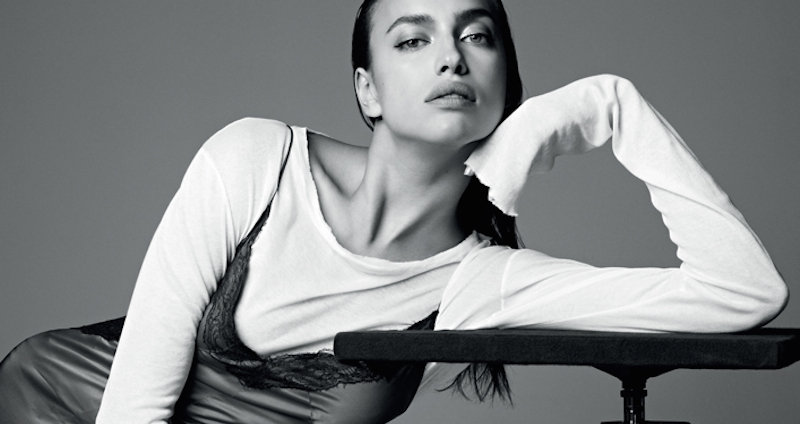 irina shayk by nagi sakai for harper's bazaar spain december 2015