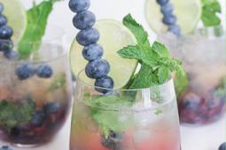 Blueberry Mojito Royale