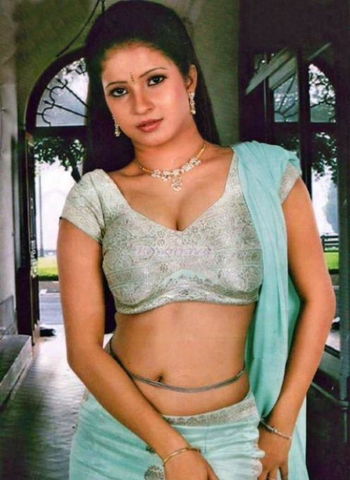 Sexy Aunty Ji Mallu Actress Navel Show-8835