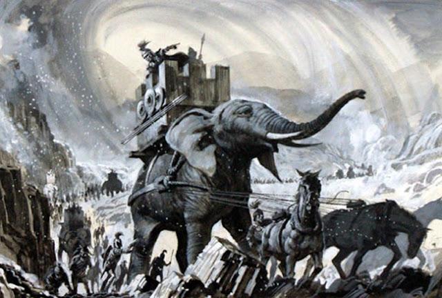 272 π.Χ.: Ελέφαντες προκαλούν τρόμο στο Άργος