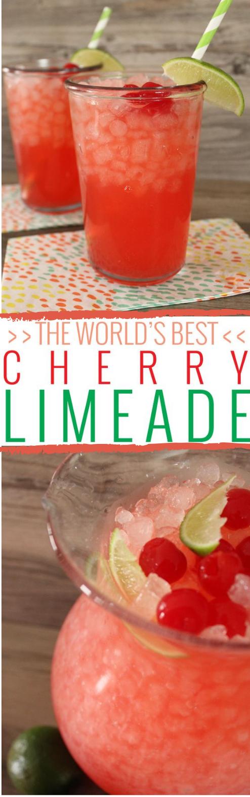 THE WORLD'S BEST CHERRY LIMEADE
