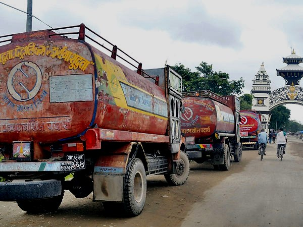 India stopped fuel supplies to Nepal