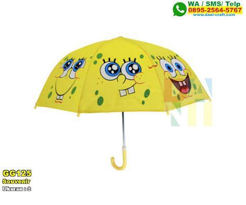 Souvenir Payung Spongebob