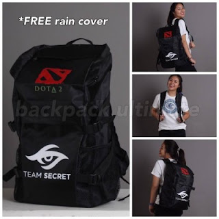 Gaming Bag - Tas Gaming ULTIMATE Backpack - Team Secret