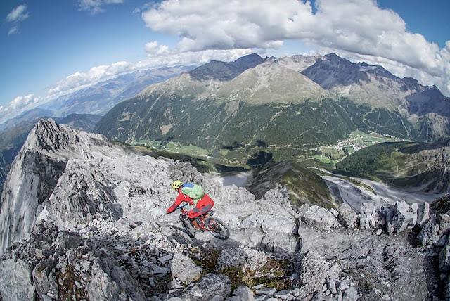 GPS-Track Mountainbike Payerhütte Vinschgau