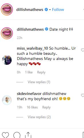hvem er dillish mathews dating nu