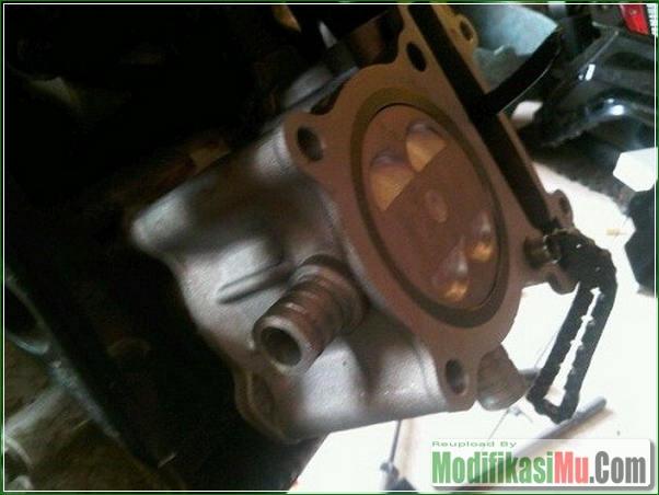 Bore Up Mesin - Panduan Cara Modifikasi Yamaha Jupiter MX 135LC 5 Speed Menjadi 200cc DengaN Bore Up Stroke Up