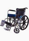 Wheelchair With Mag Wheels