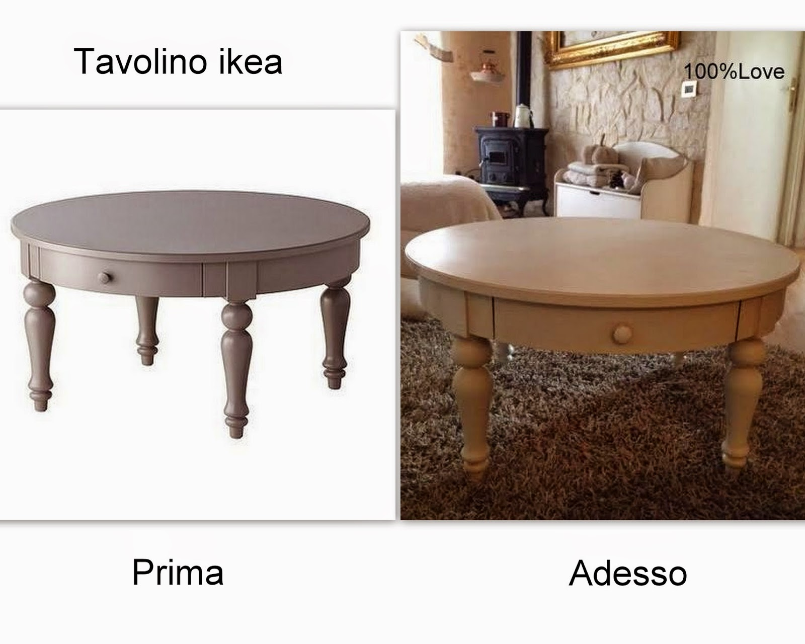 100%LOVE: Tavolino ikea ...?
