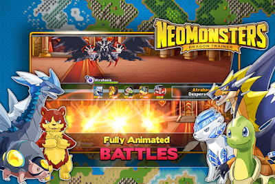 Tampilan Game Neo Monsters