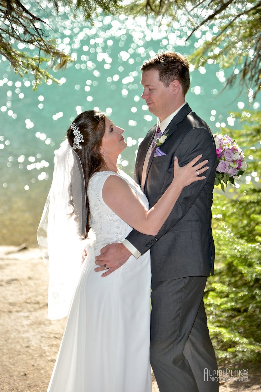 Gorgeous Moraine Lake Wedding