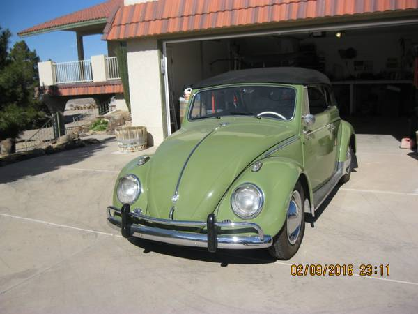 1961 Volkswagon Convertible Bug