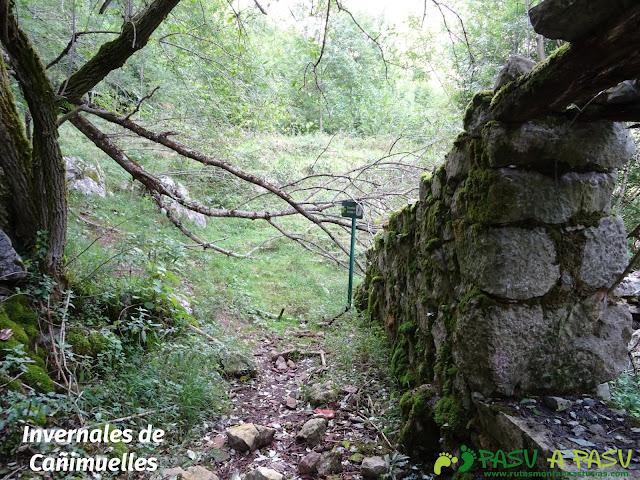 De Urdón a Tresviso: Invernales de Canimuelles