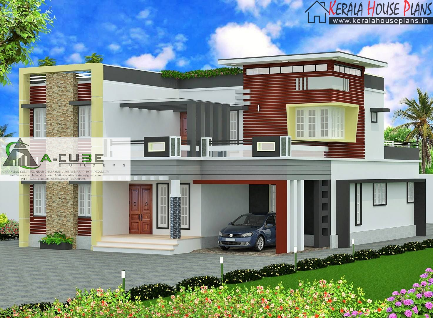 Unique Modern Contemporary House design