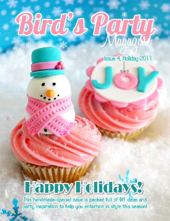 Bird's Party Magazine Holiday 2011, Issue 4