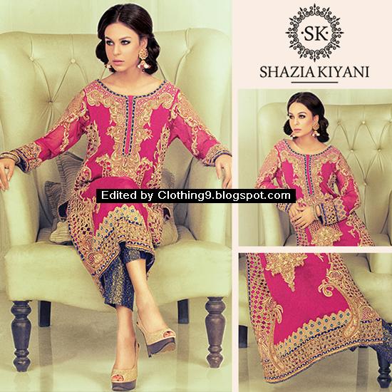 Shazia Kiyani Bridal Wear 2015