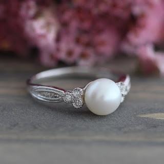 Lux crown  engagement ring