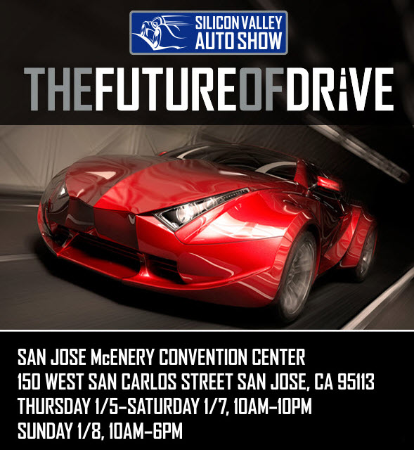 The San Jose Blog The Silicon Valley Auto Show Begins Today - San jose car show discount tickets