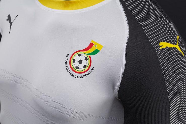 Nueva camiseta titular Puma de Ghana