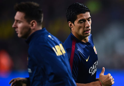 Luis Suarez backs Lionel Messi for Ballon d'Or