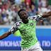 Full-time Nigeria beaten 2 – 0 Iceland #WorldCup