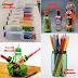 Como hacer un porta lápices con botellas de plástico recicladas