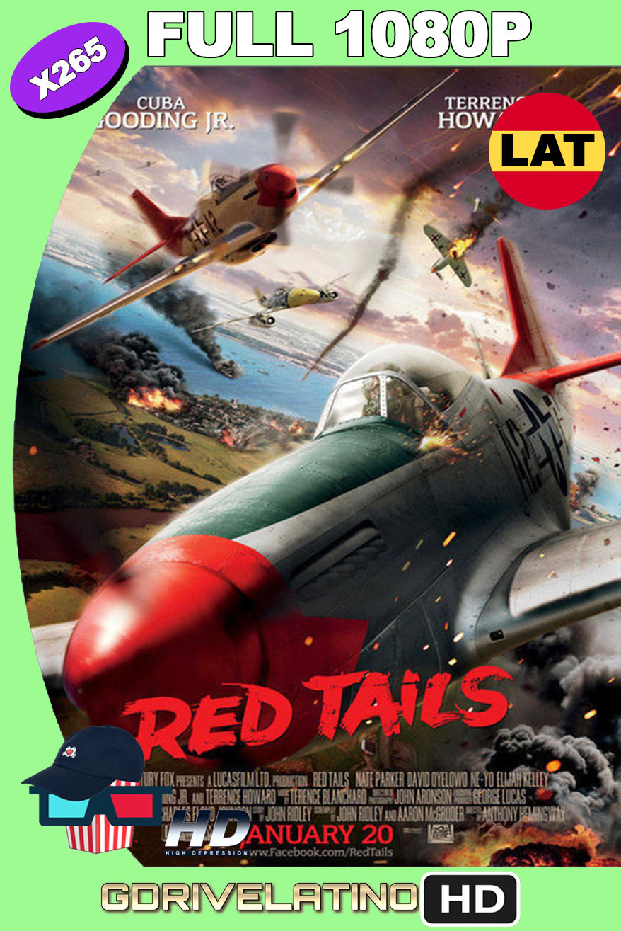 Red Tails (2012) BDRip 1080p H265 10bits Latino-Inglés MKV